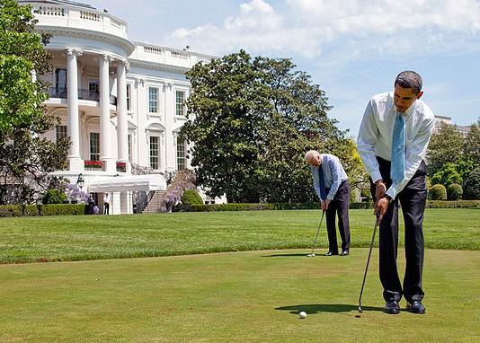 ObamaGolf.PeteSouza.WMC