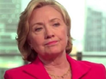 HillaryClintonFrown.YouTubeScreenshot