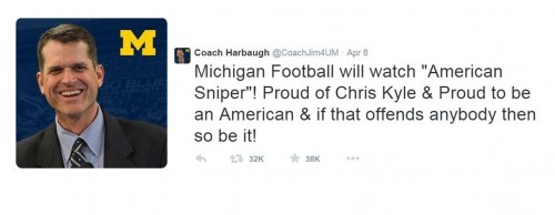 Harbaugh Tweet 2