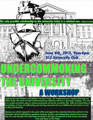 Undercommoning