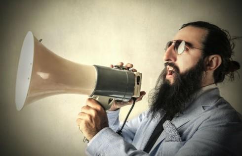 megaphone-protest.Shutterstock