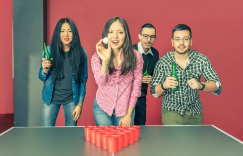 frat-greek-beer-pong.Shutterstock