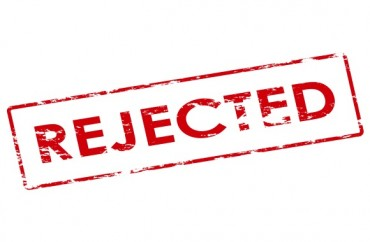 rejected.Shutterstock
