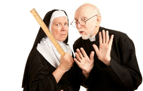 catholic-nun-priest-punish.CREATISTA.Shutterstock