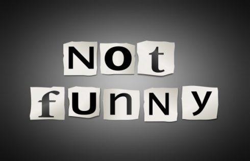 not-funny-shutterstock