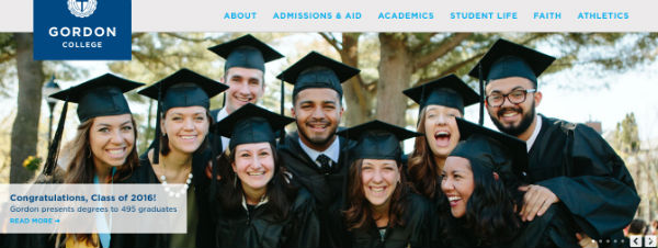 gordon-college-homepage-screenshot