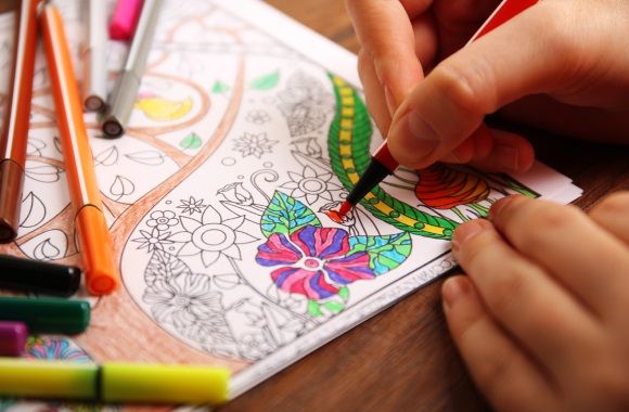 Colleges Turn To Coloring Books To De Stress Students