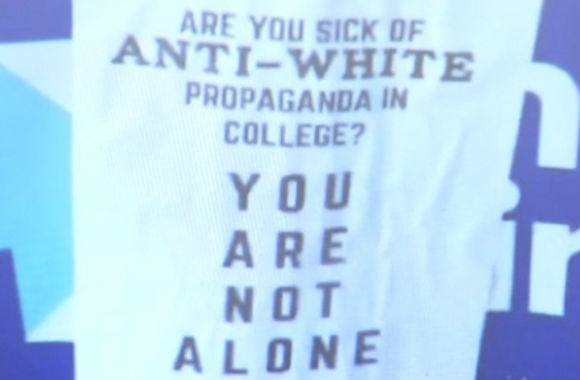 university of iowa shows double standard applied to anti-white racism in flyer flap