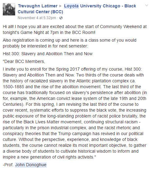 john-donoghue-loyola-slavery-loyola_black_cultural_center-facebook