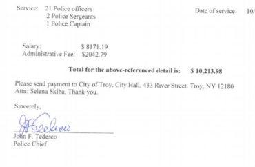 police receipt