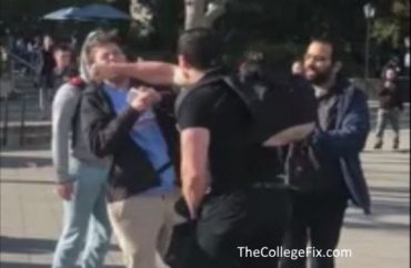 VIDEO: Conservative punched in face over 'This is MAGA