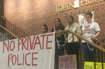Protesters shut down Johns Hopkins building for a week  Here's how