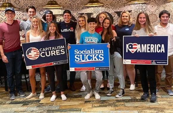 Student activist gets approval for Turning Point USA group after pushing back against administration
