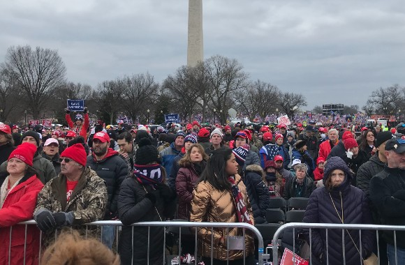 Media coverage of D.C. events last week does not give the full picture. I know, I was there.